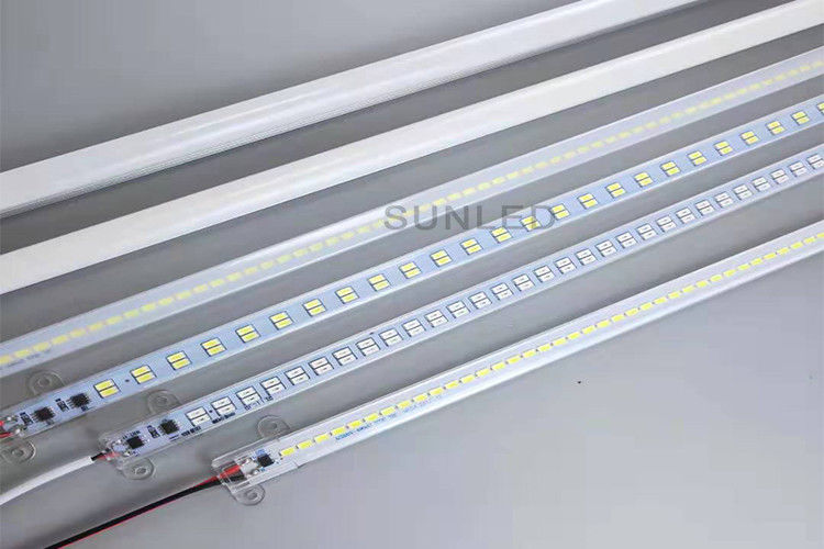 High Lumen Rigid LED Strip Lights , Outdoor LED Strip Lights Double Row